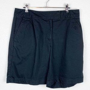 Nike Golf Black Dri Fit Hook Closure Shorts 12